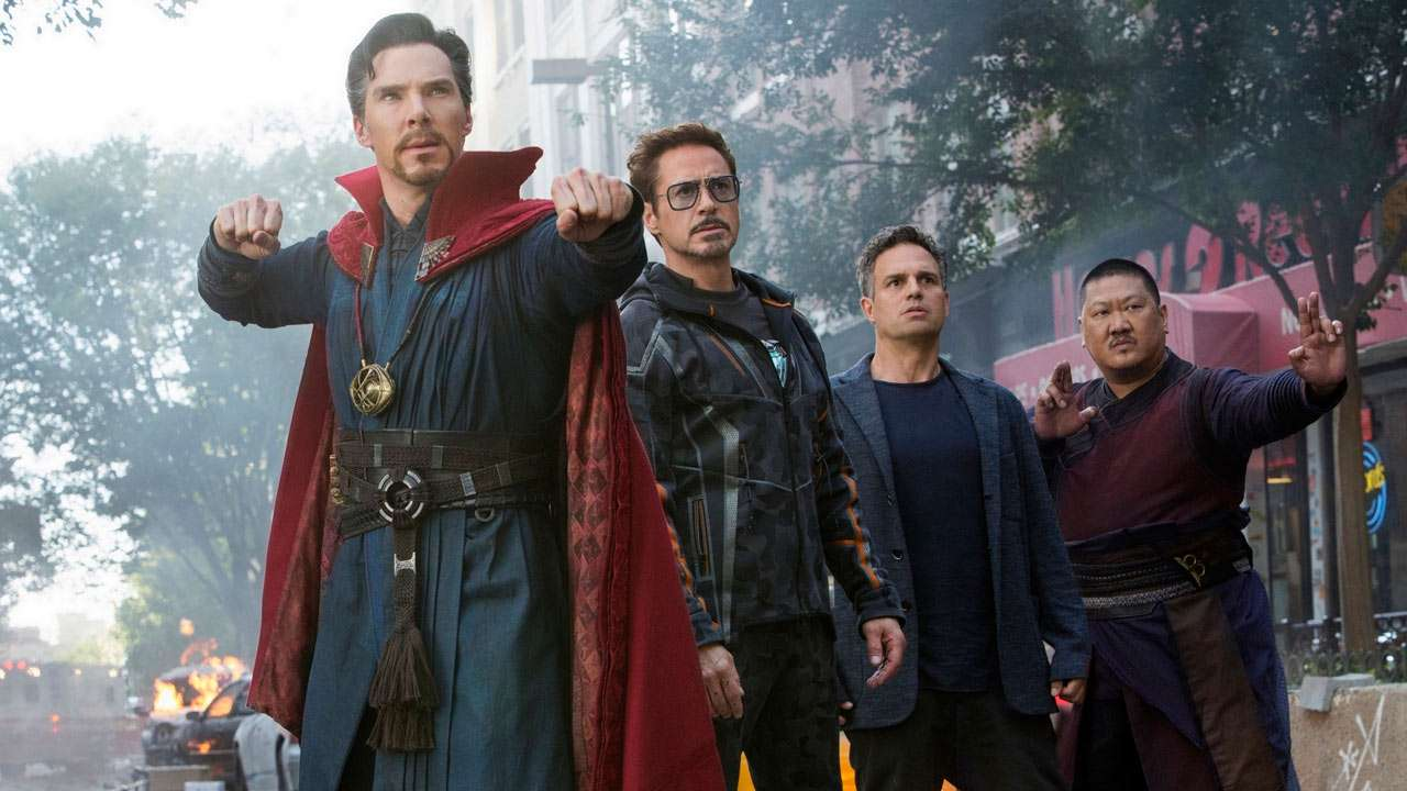 Iron Man Infinity War Set Photos