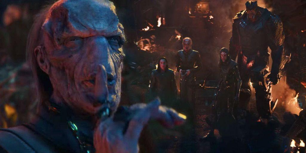 Avengers: Infinity War Doctor Strange vs. Ebony Maw