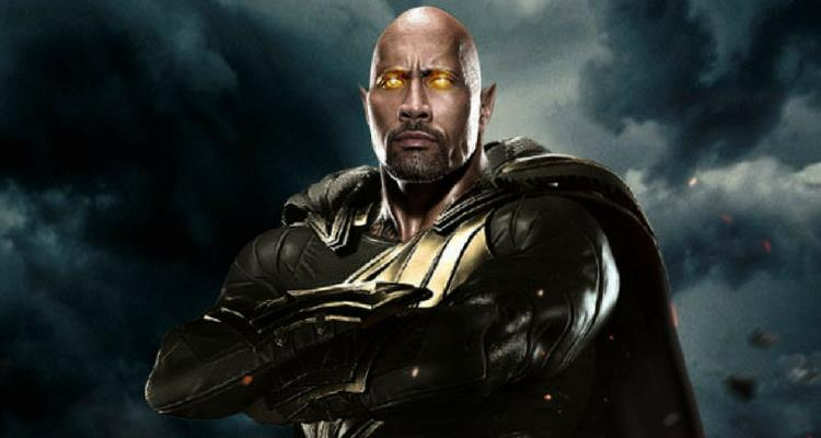 Black Adam Movie Dwayne Johnson DC