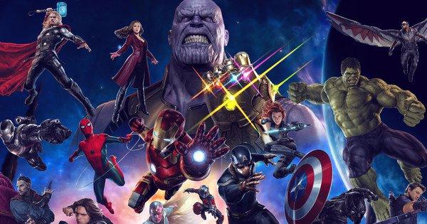 Art of Infinity War MCU