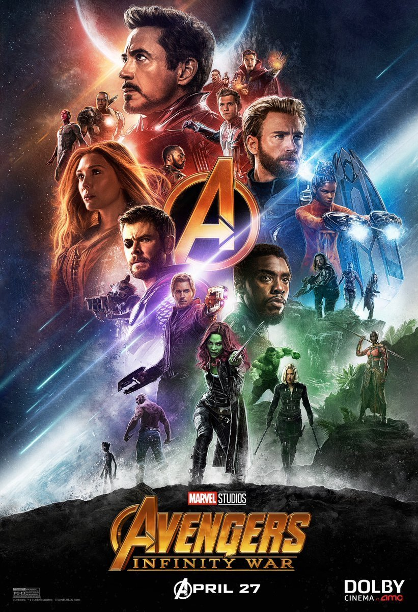 brand new avengers infinity war posters and promo arts