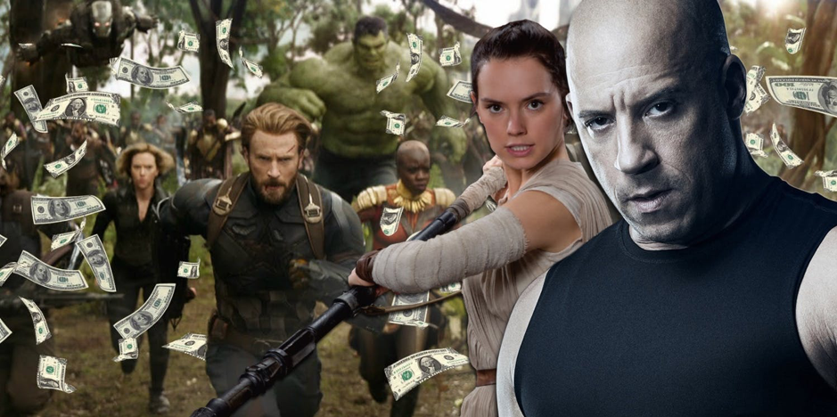Infinity War opening weekend