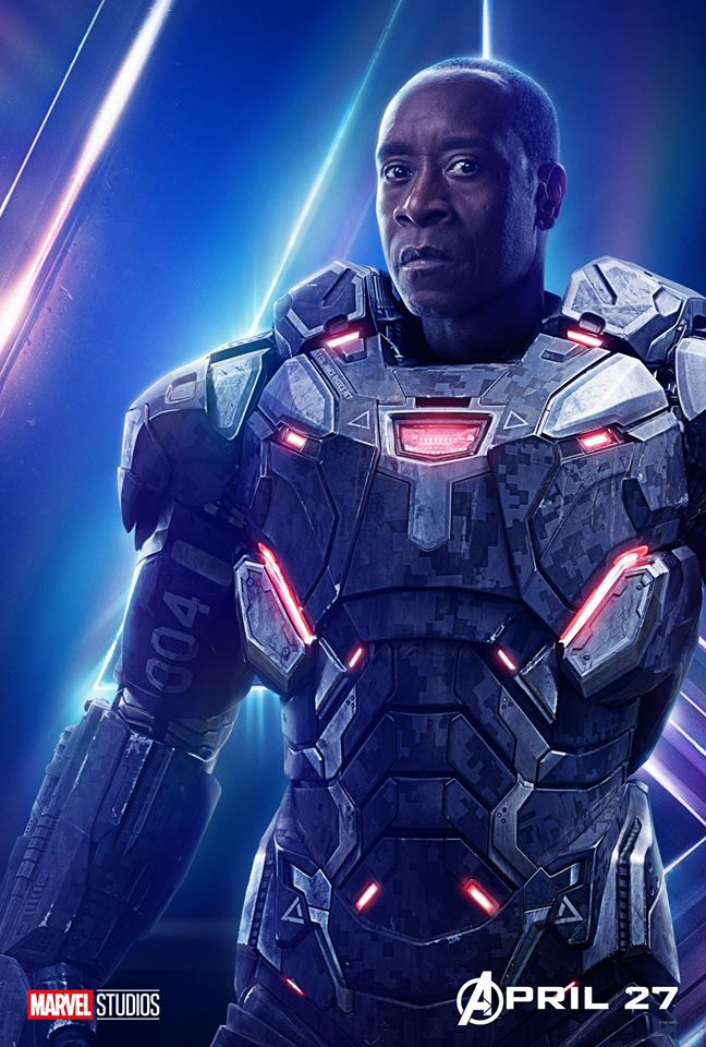 Avengers 4 Title War Machine Don Cheadle