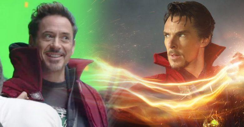 Avengers: Endgame Doctor Strange Tony Stark