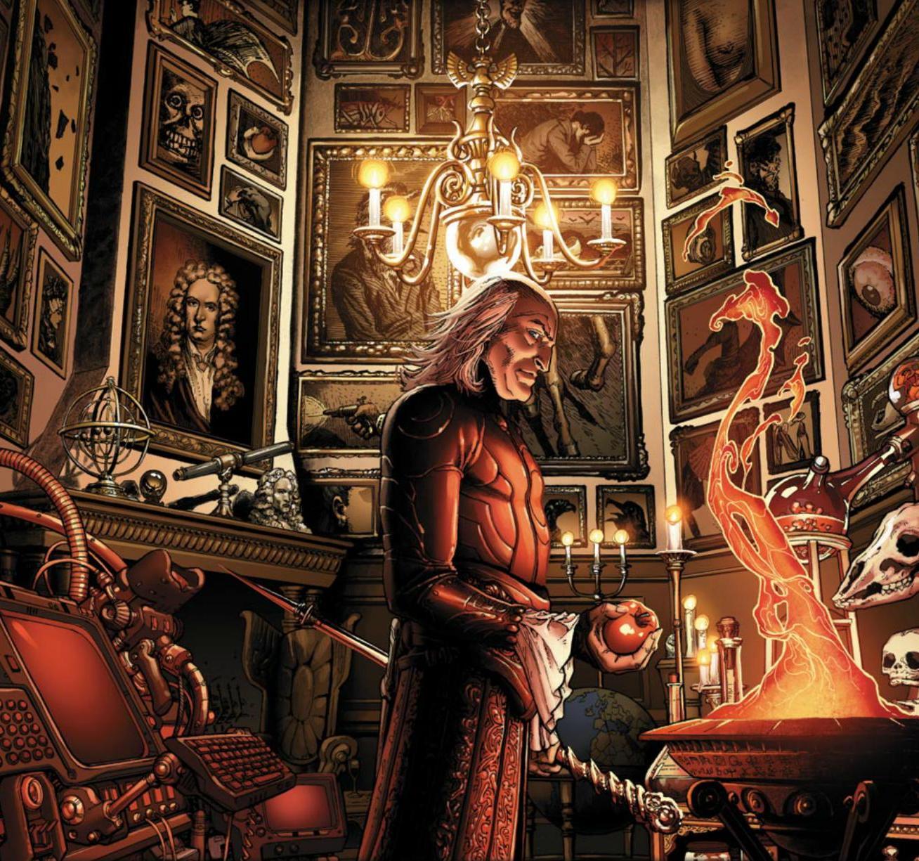 Powerful Wizards Doctor Strange Sorcerer Supreme