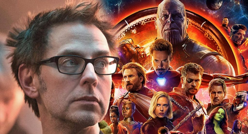 Infinity War james gunn