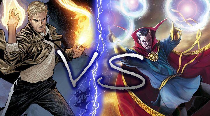 Constantine Vs Doctor Strange