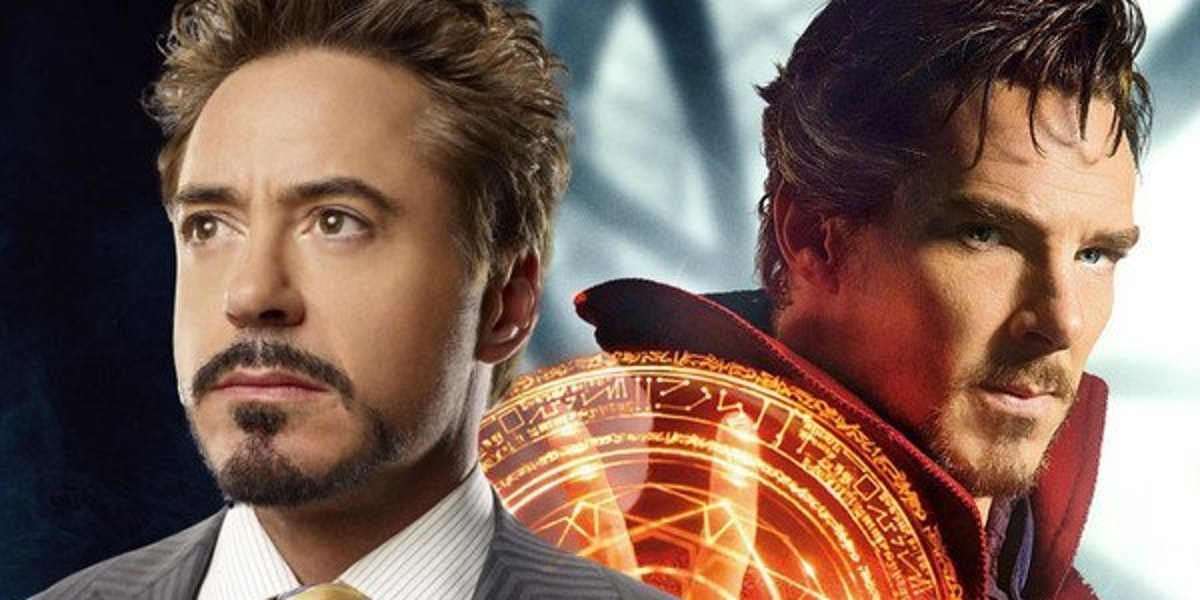 infinity war doctor strange iron man