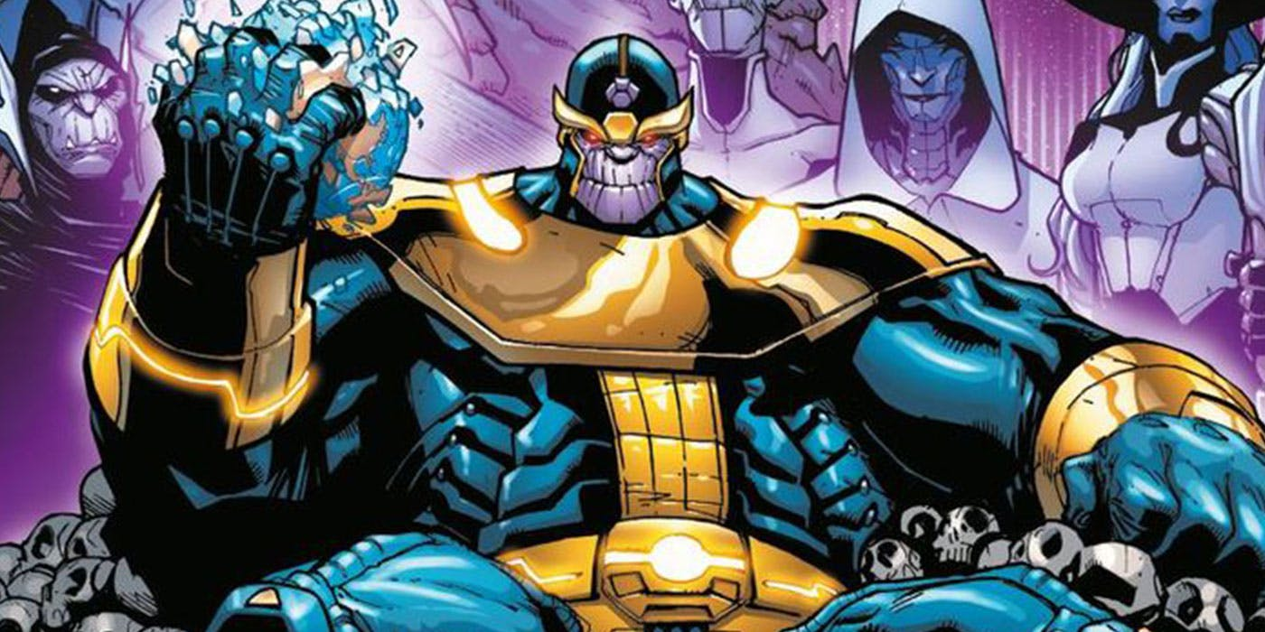Thanos Marvel Comics Infinity Gauntlet