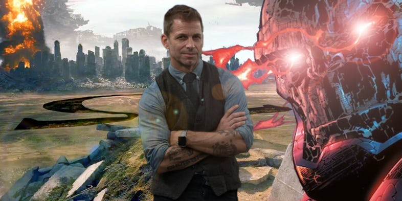 Justice League Zack Snyder Darkseid
