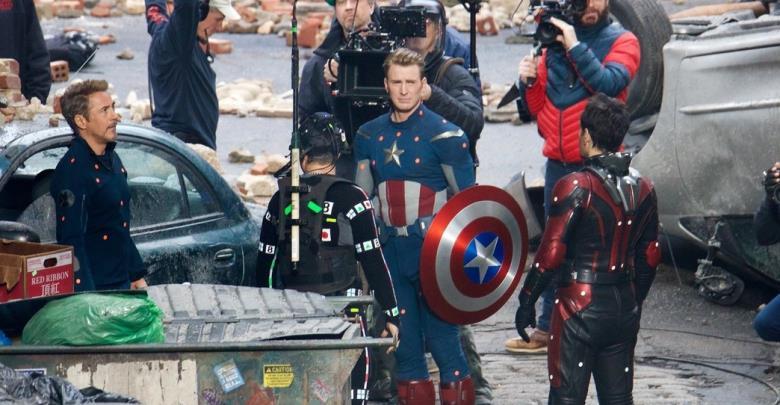 avengers 4 set Quantum Realm Avengers Suits New White Suits