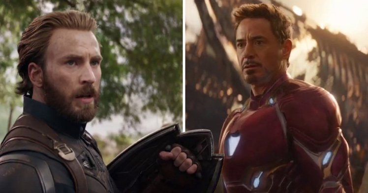 Robert Downey Jr. Replies To Chris Evans