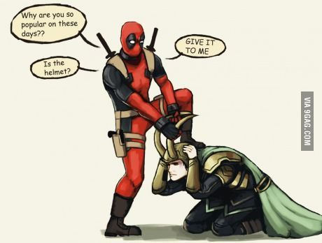 Funny Meme Character : Deluxe deadpool funny memes deadpool is jealous the funniest new