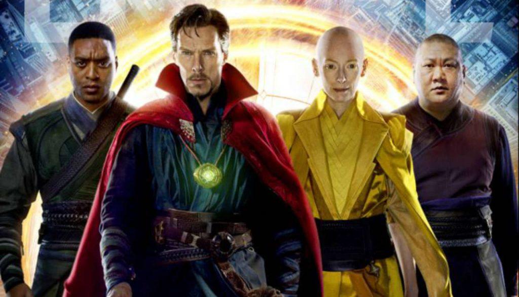 Avengers: Endgame Thanos Wong Doctor Strange