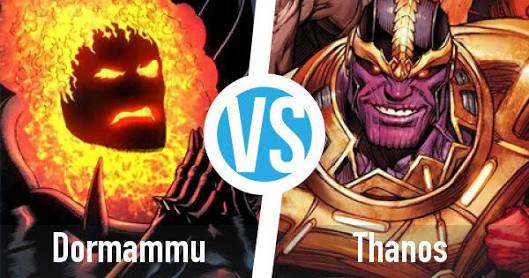 Dormammu vs Thanos