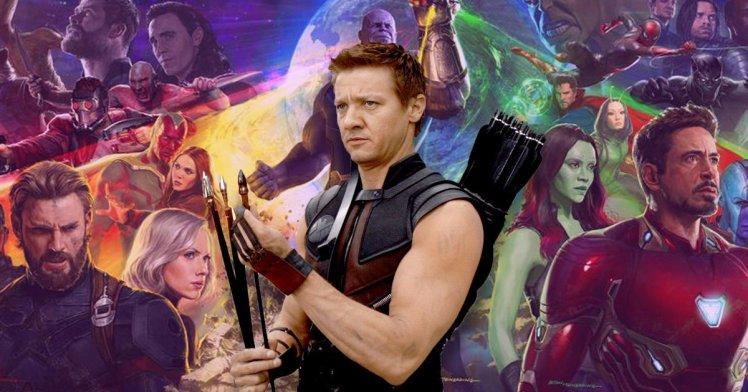 Infinity War Thanos Snap Hawkeye