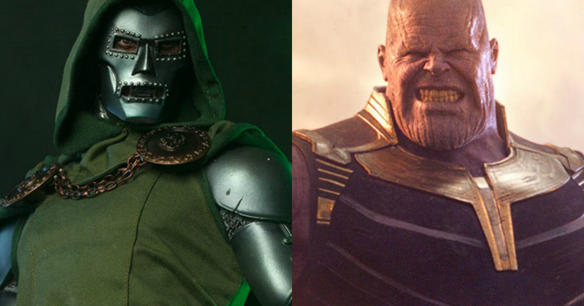 Dr. Doom vs Thanos