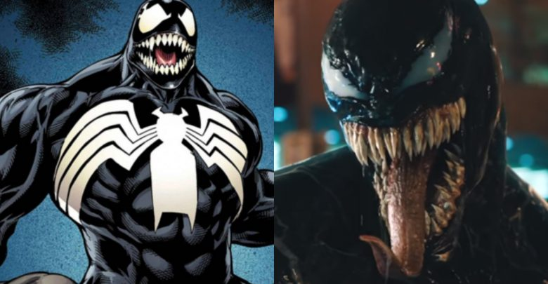 Heres Why Venom Will Not Wear The Spider Symbol In The Movie