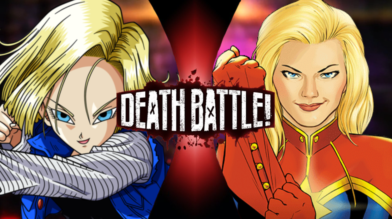 Captain Marvel Vs Android 18