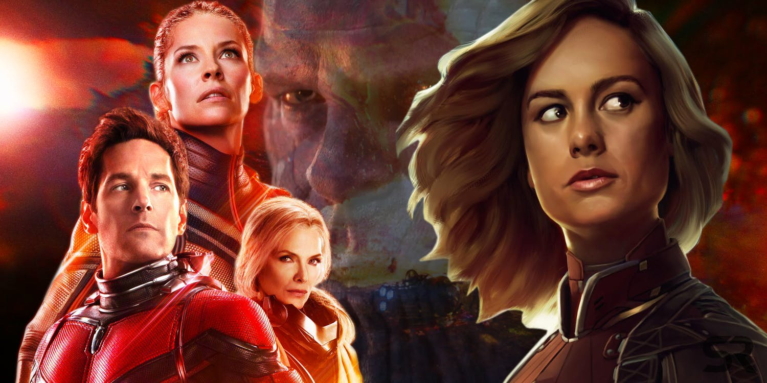 Quantum Realm Connects Captain Marvel And Ant Man 2