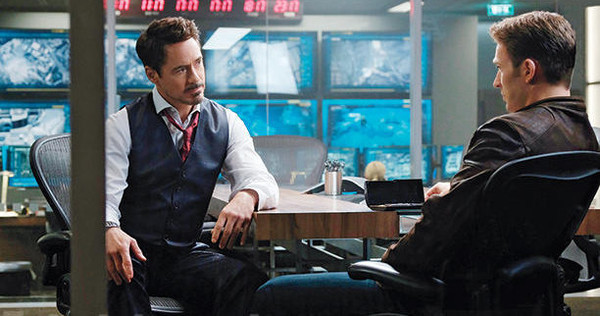 Avengers: Infinity War Details Phone Cap Gave to Tony