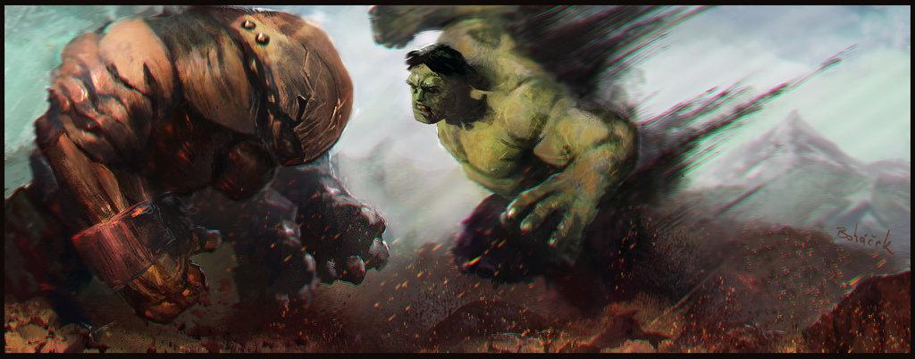Juggernaut vs Hulk