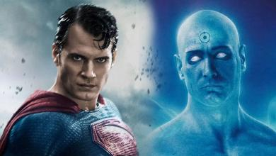 Justice League V Watchmen Doctor Manhattan
