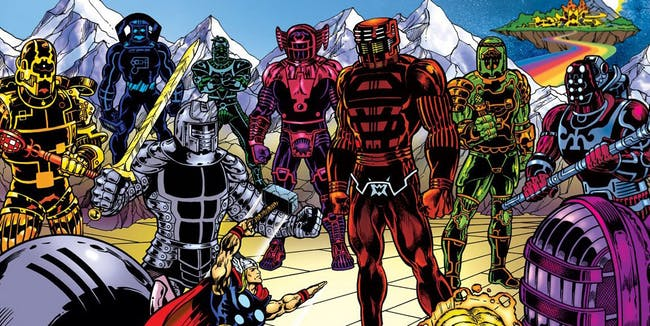 The Eternals Marvel
