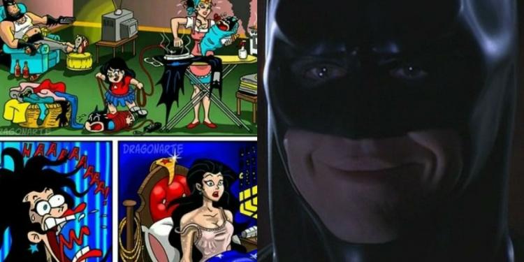 Wonder Woman And Batman Memes