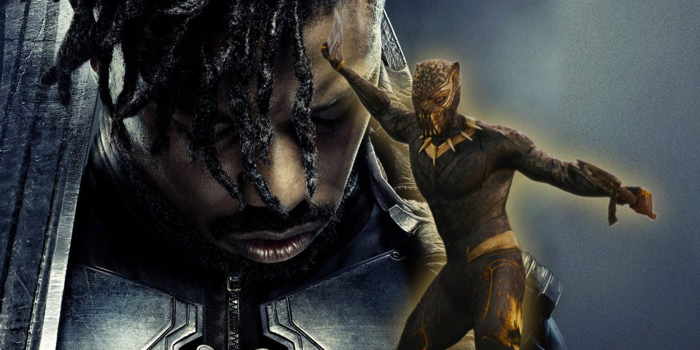 Killmonger Black Panther Danai Gurira