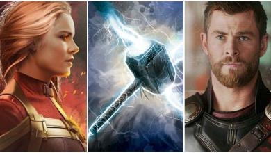 Photo of Captain Marvel Can Lift Thor's Hammer According to Brie Larson!!!