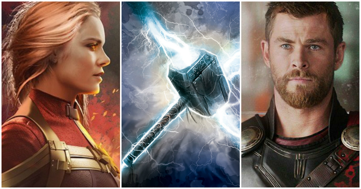 b3a4fc48d06 Can Captain Marvel Lift Thor s Hammer  The Answer Will Surprise You