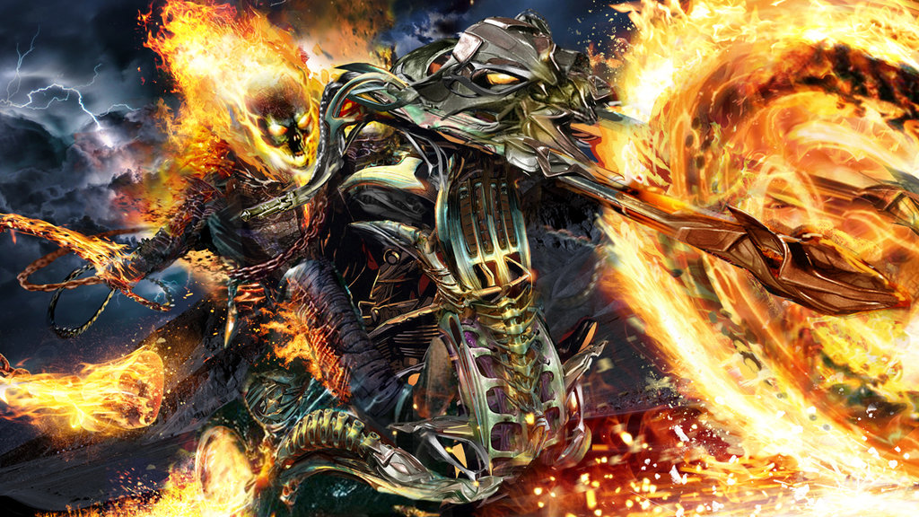 Thor Vs Ghost Rider