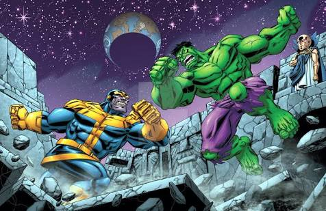 Hulk vs Thanos