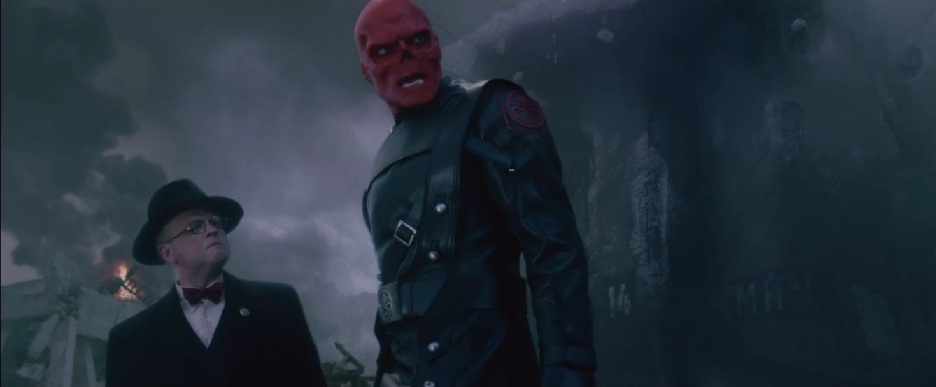 Red Skull Infinity War Ghost Rider