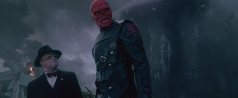 Red Skull Infinity War Ghost Rider