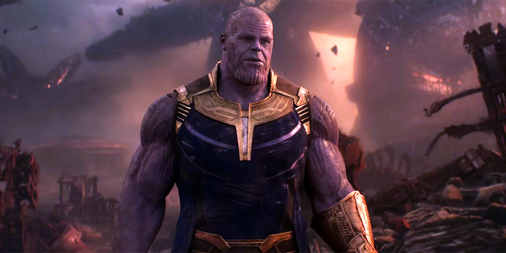 Avengers 4 Concept Art Showcases Thanos' New Sword Which Looks Scary As Hell