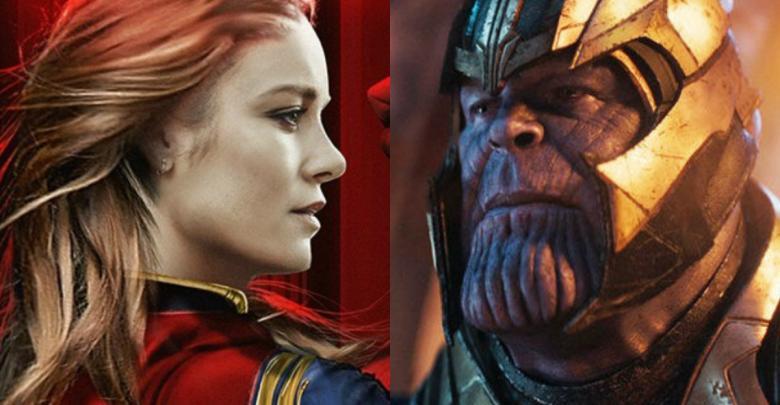 Thanos VsCaptain Marvel