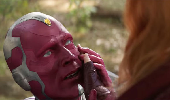 Vision-Scarlet Witch TV Series MCU