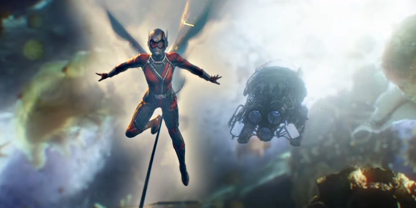 Ant-man and the wasp and infinity war connection