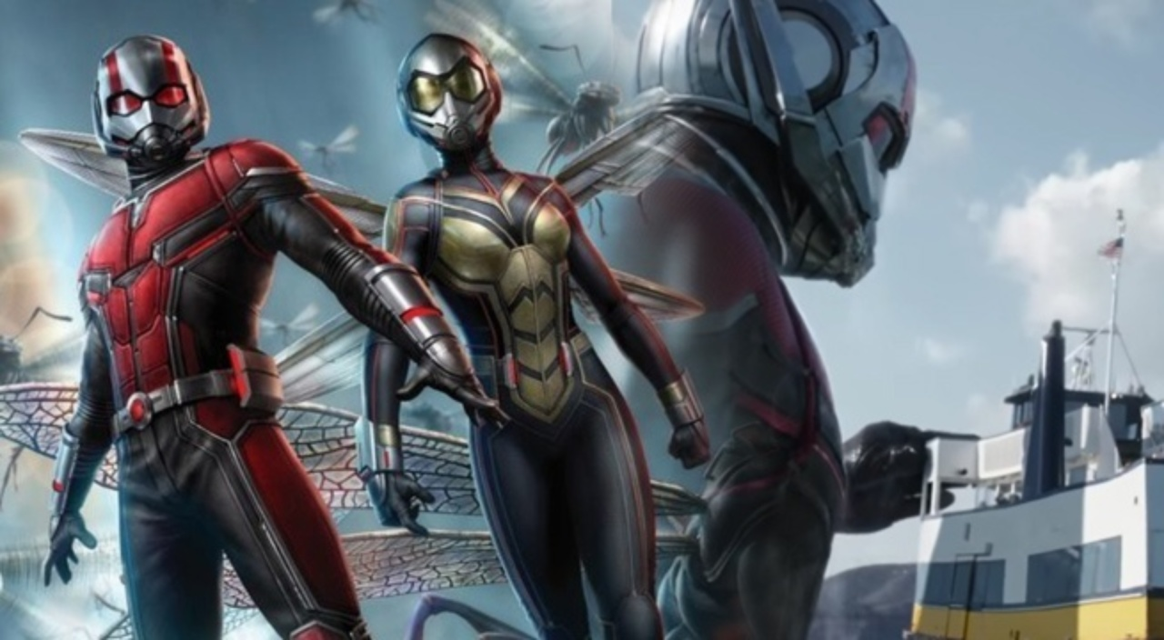 new suit of Ant-Man And The Wasp