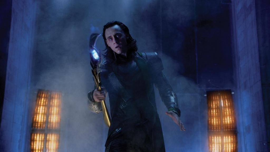 The Avengers Loki Scepter Marvel