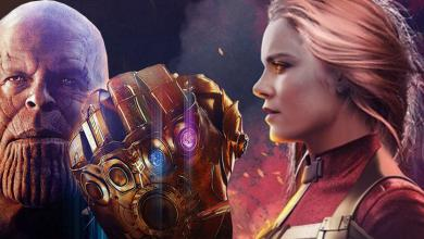 Captain Marvel Thanos MCU