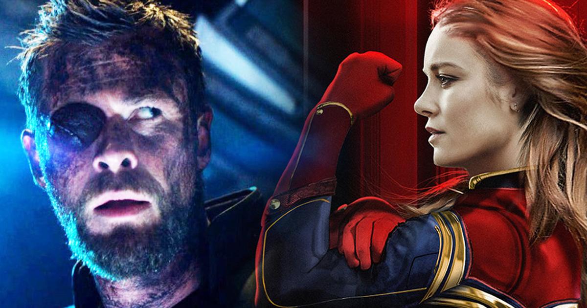 Captain Marvel Thor's Hammer Brie Larson