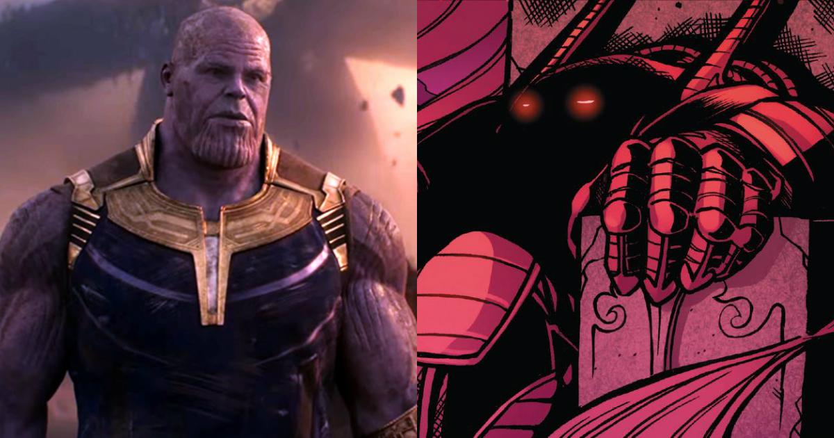 Cyttorak vs Thanos