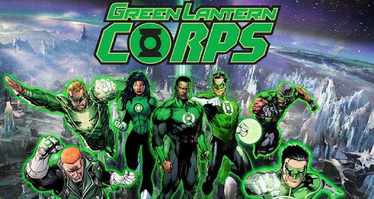 Upcoming Green Lantern Corps