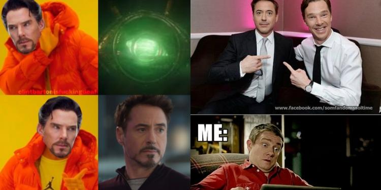 Iron Man And Doctor Strange Memes