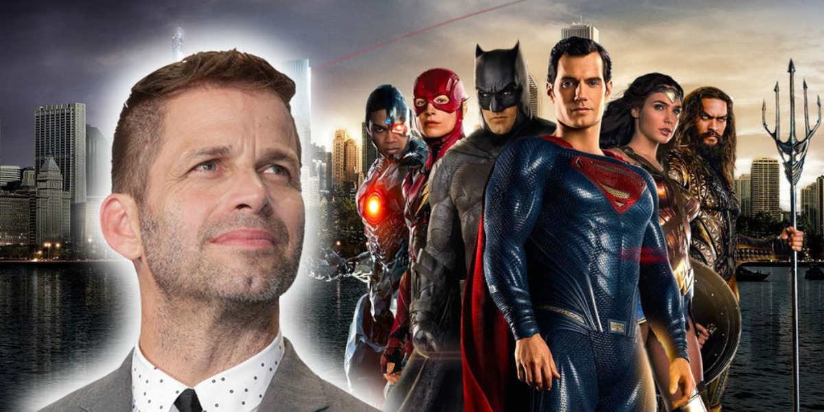 Zack Snyder Justice League Snyder Cut