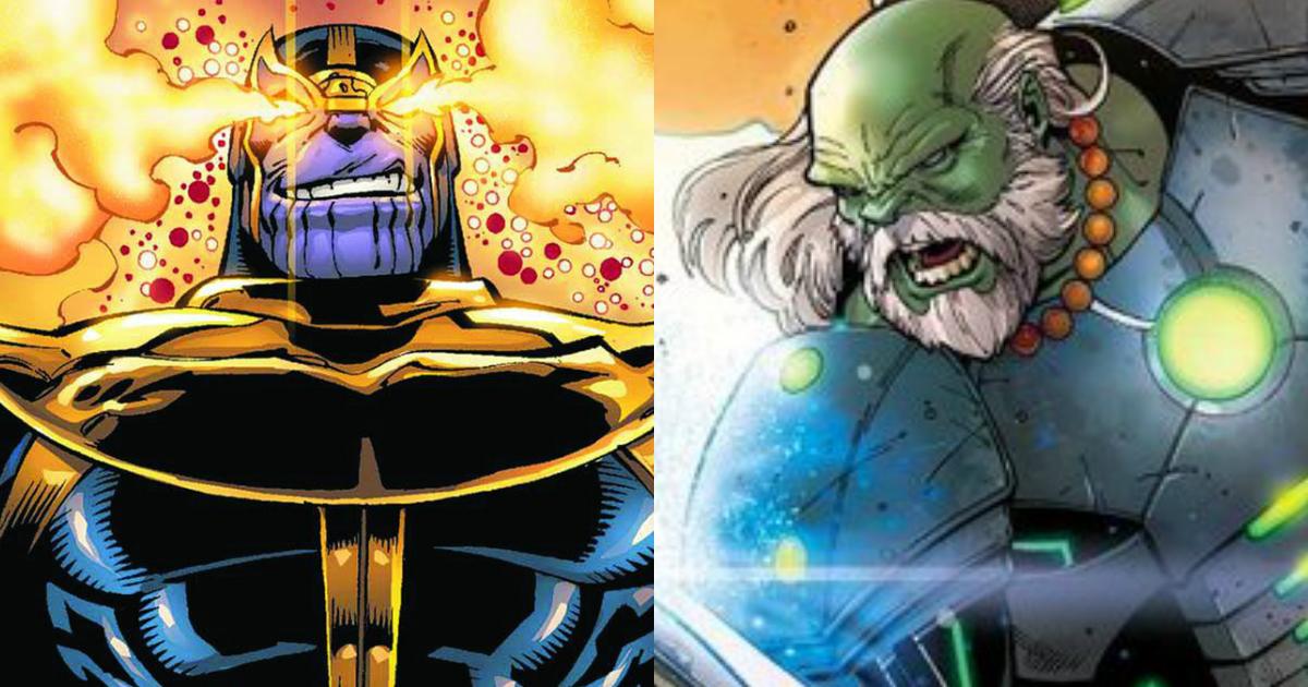 Maestro Vs Thanos