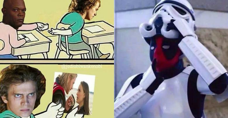 Marvel Vs Star Wars Memes